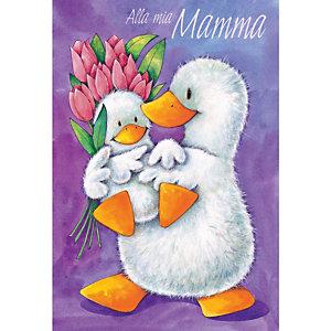 Biglietto Auguri, Festa della mamma, 12 x 18 cm