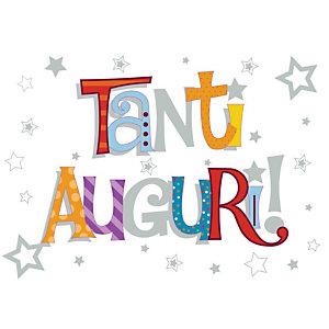 Biglietto Auguri Talking Pictures, Tanti auguri, 12 x 18 cm