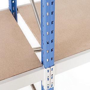 Bijkomstig niveau met spaanplaatafdekking-B. 180 x D. 80 cm