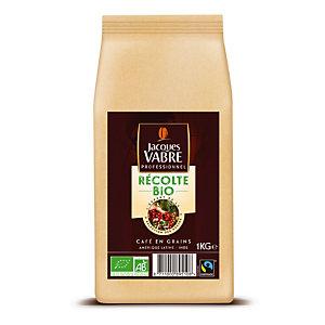 Bio koffie in bonen Jacques Vabre, 1 kg.