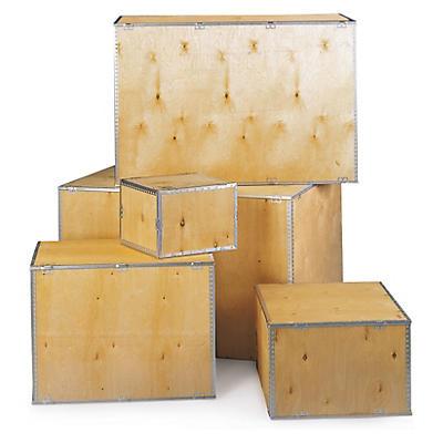 Birken Sperrholz-Faltkisten
