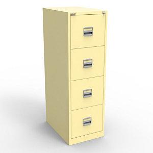 Bisley Classeur Budget 4 tiroirs en métal - Beige