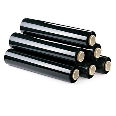 Black blown stretch film hand rolls