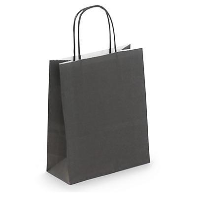 Black mini Kraft bags