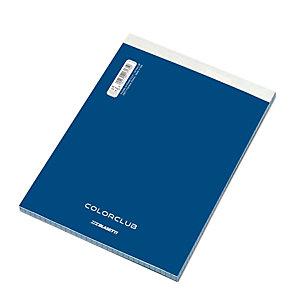 BLASETTI Block-notes ColorClub, Formato A5, Quadretti 5 mm (confezione 10 pezzi)