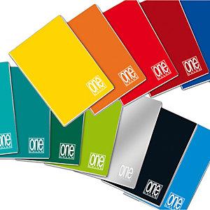 BLASETTI Maxiquaderno One Color - A4 - quadretto 4mm con margine - 20 fogli - 80gr - Blasetti