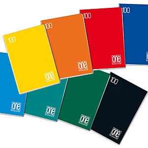 BLASETTI Maxiquaderno One Color - A4 - quadretto 5mm con margine - 18 fogli - 100gr - Blasetti