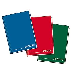 BLASETTI Registro cartonato - 5mm - 210 x 297mm - 192 fogli - Blasetti