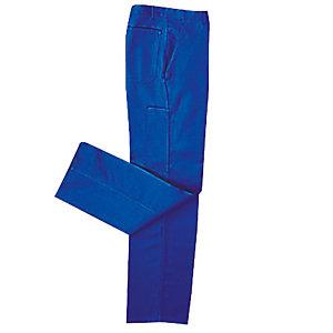 Blauwe broek in polykatoen maat 54