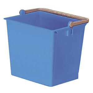 Blauwe emmer 6 L