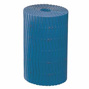 Blauwe roostermat voor vochtige omgeving Soft-Step op rol 15 x 0,60 m