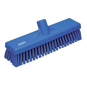 Blauwe vloerschrobber Vikan 27 cm