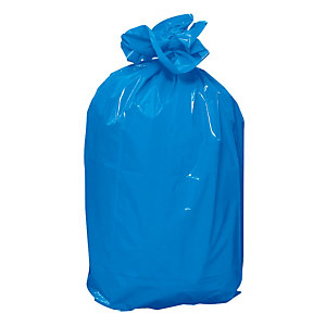 Blauwe vuilniszakken 110 L, per set van 100