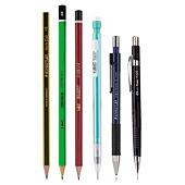 Bleistifte und Minen von Staedtler, BIC & Pentel