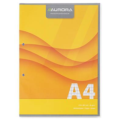 Bloc de cours A4 Aurora
