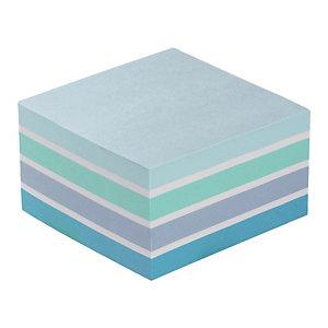 Bloc Post-it® 3 M format 76 x 76 coloris aquarelle bleu