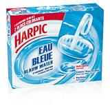Bloc WC anti-tartre eau bleue HARPIC