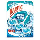 Bloc WC parfum marine active fresh Harpic