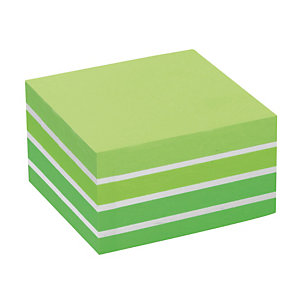 Blok Post-it® 3 M formaat 76 x 76 kleur Aquarel groen