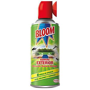Bloom Barrera Exterior Spray Insecticida contra Mosquitos, Moscas y Hormigas, 400 ml