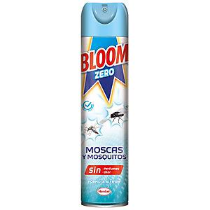 Bloom Zero Spray Insecticida contra Moscas y Mosquitos, 400 ml