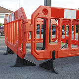 Blow Moulded Barrier HDPE