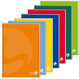 BM Maxiquaderno Color 80 - A4 - quadretto 4mm - 96 fogli - 80gr - cartonato - BM
