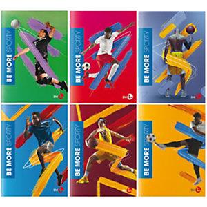 BM Maxiquaderno Sporty Be More Special 2021 - A4 - 36 + 2 fogli - 1 rigo - 100 gr - BM