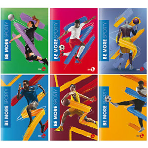 BM Maxiquaderno Sporty Be More Special 2021 - A4 - 36 + 2 fogli - rigo di 3a - 100 gr - BM