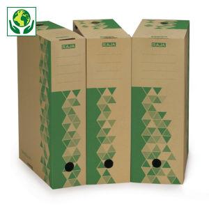 Boîte-archives brune recyclée RAJA