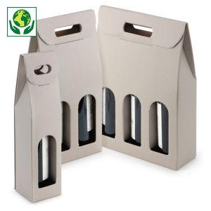 Boîte pour bouteilles à poignée collection HORIZON