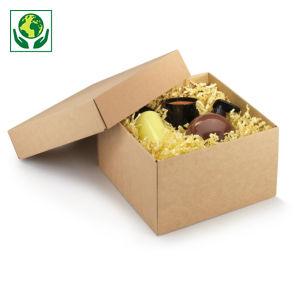 Boîte cadeau avec couvercle séparé