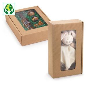 Boîte pliante avec fenêtre collection HEVEA
