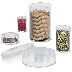 Boîte ronde plastique