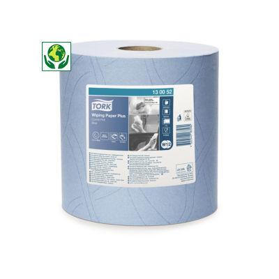Bobina azul de secado industrial Plus TORK