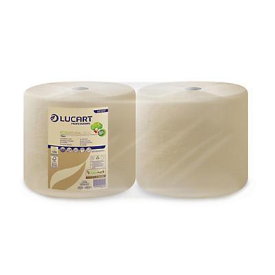 Bobina industriale per asciugatura Eco Natural Lucart