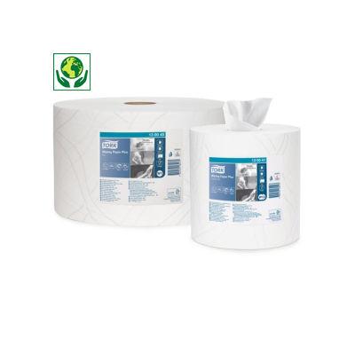 Bobina per asciugatura TORK Plus bianca