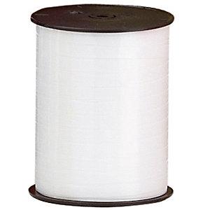 Bobine de Bolduc 500 m x 7 mm blanc