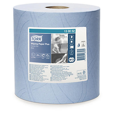 Bobine d'essuyage bleue TORK® Advanced Blue performance##Tork Industrieel poetspapier