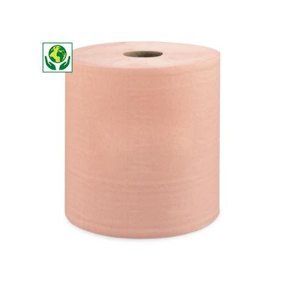 Bobine d'essuyage chamois##Schoonmaakpapier op rol (roze)