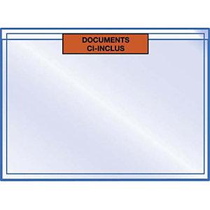 AUTRE Boîte de 1000 pochettes pour documents Ci-Inclus - Format : 22.5 x 16.5 cm