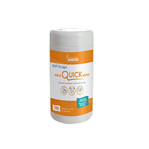 Boîte de 120 lingettes désinfectantes Anios Quick Wipes