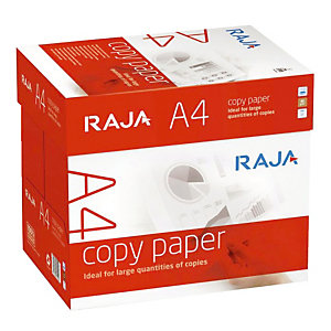 Boite de 2500 feuilles  papier RAJA Copy format A4 80 g