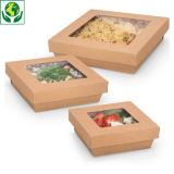 Boîte alimentaire carton carré