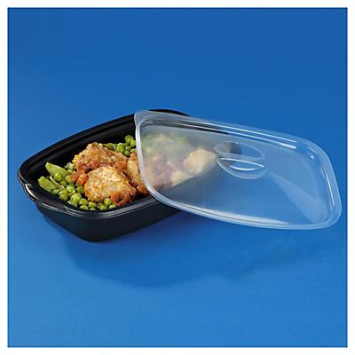 Boîte alimentaire plastique noire Marmipack®