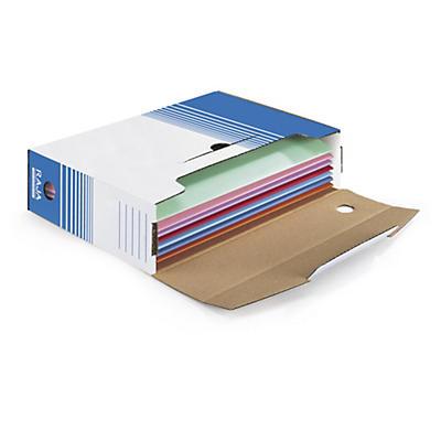 Boîte archive couleur##Weisse Ablageboxen RAJA