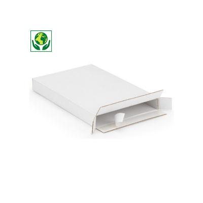 Boîte pour boîtes aux lettres avec fermeture adhésive