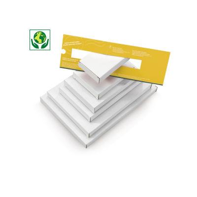 Boîte pour boîtes aux lettres format A5##A5 brievenbusdoos, wit microgolfkarton