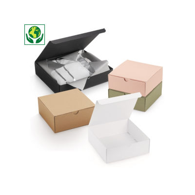 Boîte cadeau avec couvercle fixe##Geschenkdoos met vast deksel