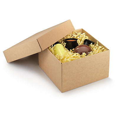 Boîte cadeau avec couvercle séparé##Geschenkbox mit separatem Deckel